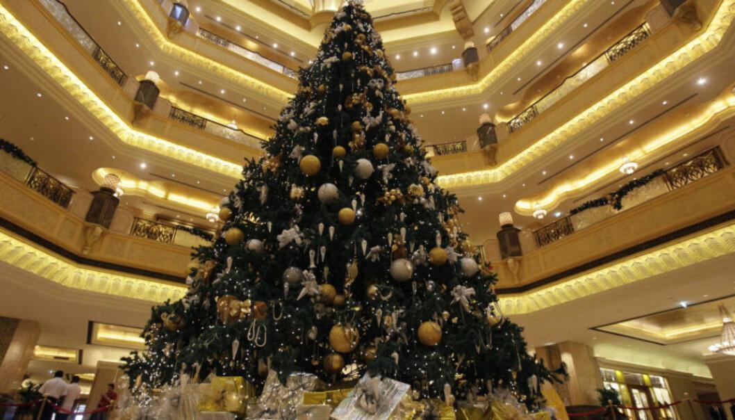 Dette er verdens dyreste juletre