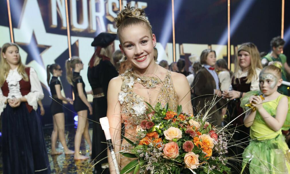 <strong>VANT:</strong> 18 år gamle Amalie Skeide Sandvik stakk av med seieren i «Norske talenter». Foto: TV 2