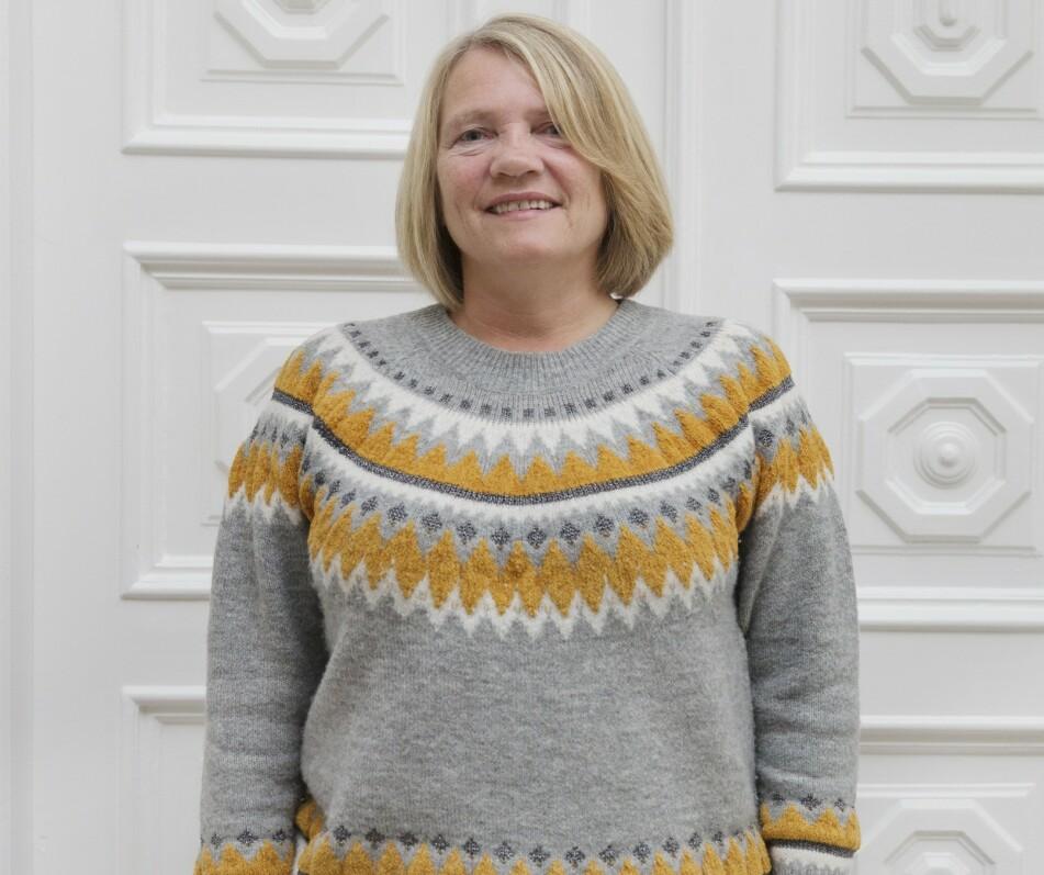 FØR: Janne er en aktiv dame som kler en sporty stil. Hun trengte bare en liten oppgradering. Foto: Yvonne Wilhelmsen