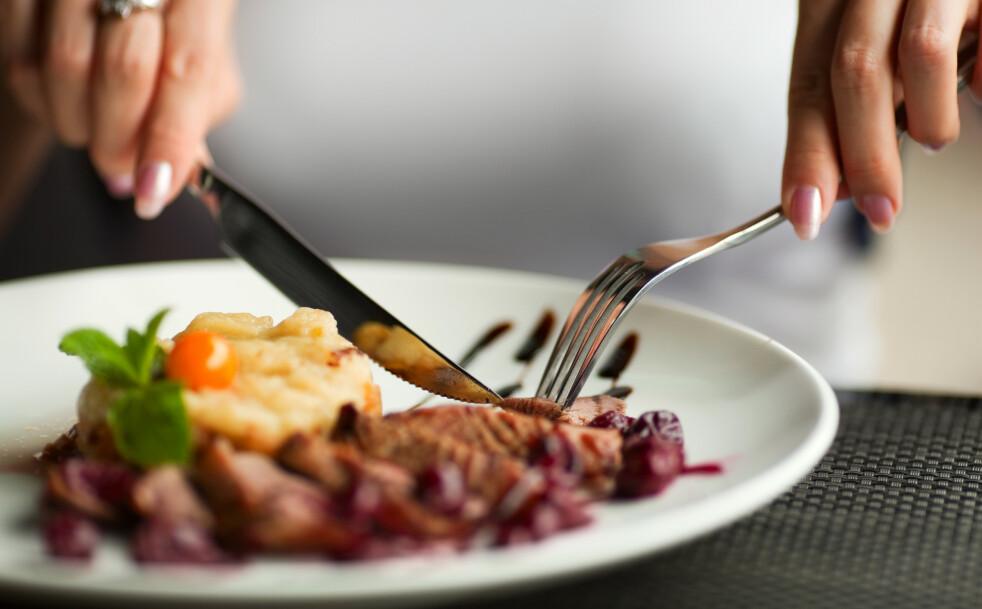 RØDT KJØTT: Mye rødt kjøtt kan gjøre at du svetter mer. FOTO: NTB Scanpix