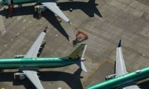 image: Stanser produksjon av 737 MAX
