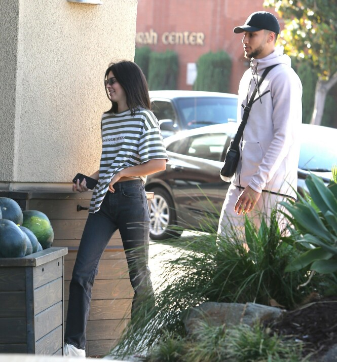 DEN GANG DA: Kendall og Ben sammen i juni i fjor. Foto: NTB Scanpix
