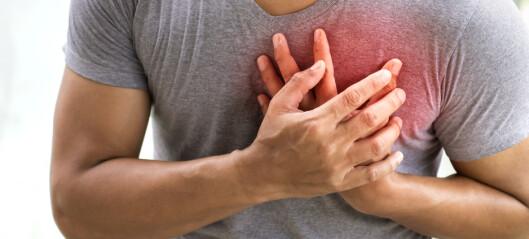 Ny faktor kan doble risikoen for at du utvikler hjerteinfarkt