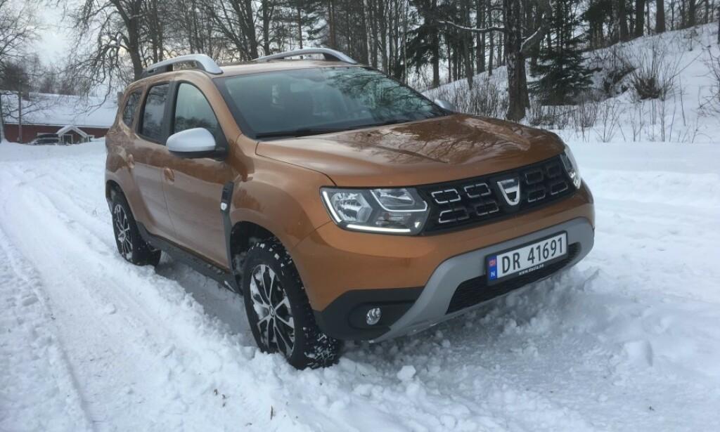 MYE FEIL: Billig-SUV-en Dacia Duster kommer dårlig ut på feilstatistikken. Foto: Knut Moberg