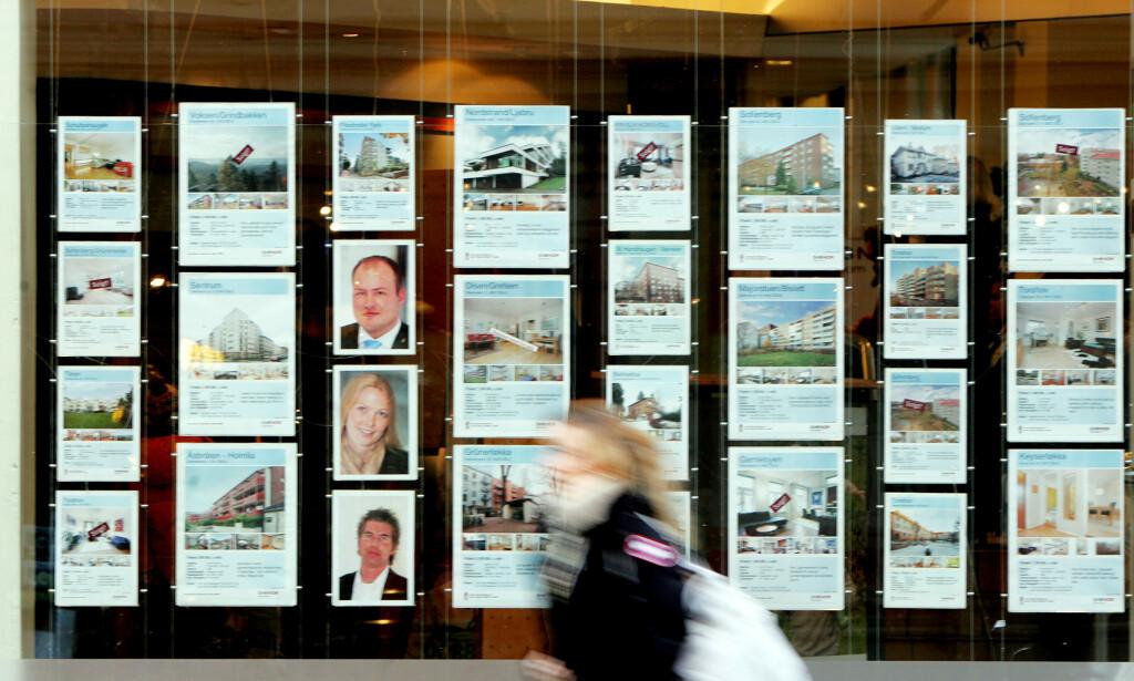 BOLIGSALG: Eiendom Norge spår at boligprisene nasjonalt vil stige med 3 prosent i 2020. Oslo får den største økningen, på 5 prosent - mens boligprisene i Stavanger forventes å forbli uendret. Foto: NTB scanpix