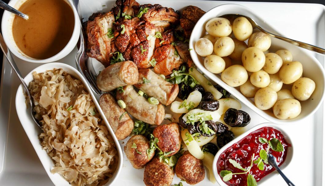 Store forskjeller: Slik er nordmenns meny på julaften