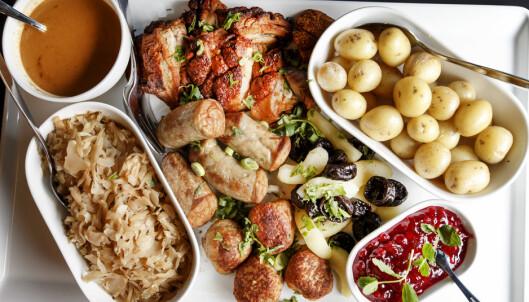 Slik er nordmenns meny på julaften