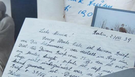 Mormors brev fra Gestapos fangenskap