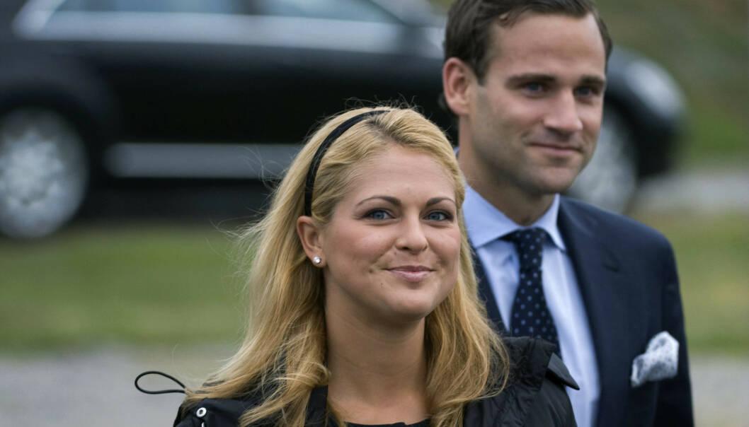 SKANDALE: Prinsesse Madeleine og Jonas Bergström stod for en kongelig skandale av dimensjoner i 2010. Foto: NTB Scanpix