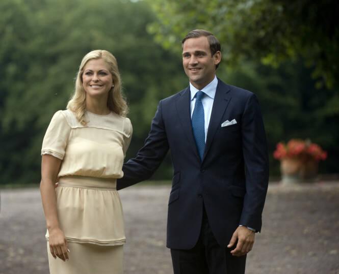 SLUTT: Forholdet mellom prinsesse Madeleine og Bergström tok slutt etter en utroskapsskandale av dimensjoner. Foto: NTB Scanpix