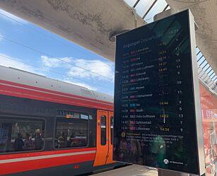 image: Færre togforsinkelser
