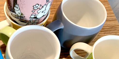 Slik fjerner du kaffe- og tebelegg i koppen