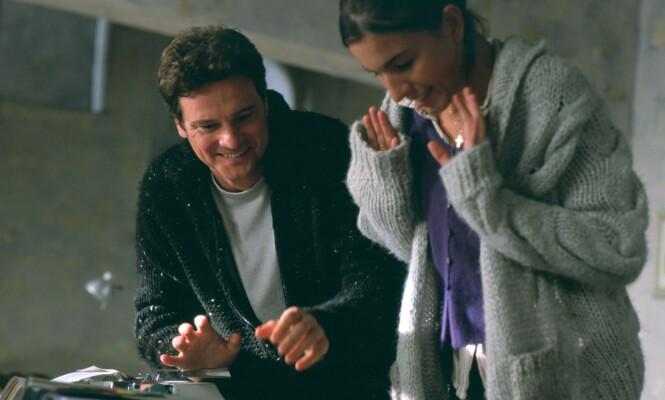 CARPE LOVE: Jamie griper kjærligheten når den dukker opp rett foran ham. FOTO: NTB Scanpix