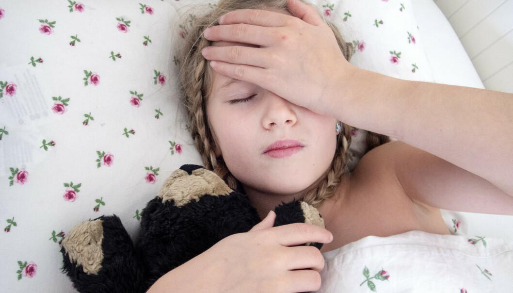 Det er fortsatt en svært lavt nivå av influensasykdom i Norge, men Folkehelseinstituttet regner med at utbruddet setter i gang for alvor rundt jul og nyttår. Barn og eldre tilhører risikogruppene. Illustrasjonsfoto: Gorm Kallestad / NTB scanpix