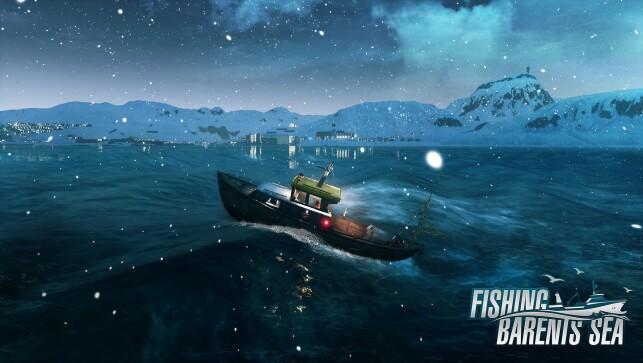 Havet i Fishing - Barents Sea baserer seg på en open source-shader. 📸: Misc Games