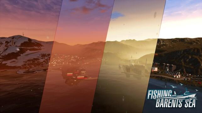 Fishing - Barents Sea utvikles i spillmotoren Unreal. 📸: Misc Games