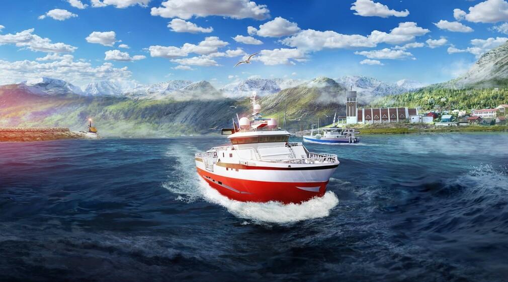 Det norske spillet Fishing - Barents Sea lar deg fiske i norsk natur, og er nå ute på alle de store plattformene. 📸: Misc Games