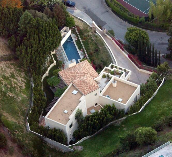 DØDSHUSET: Både Brittany Murphy og ektemannen døde i sitt felles hjem, med bare 5 måneders mellomrom. Foto: NTB Scanpix
