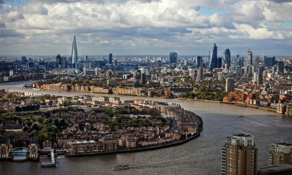 LONDON: En tur til den engelske hovedstaden har blitt nesten 3500 kroner dyrere siden 2018, ifølge beregninger av Storebrand. Foto: NTB Scanpix.