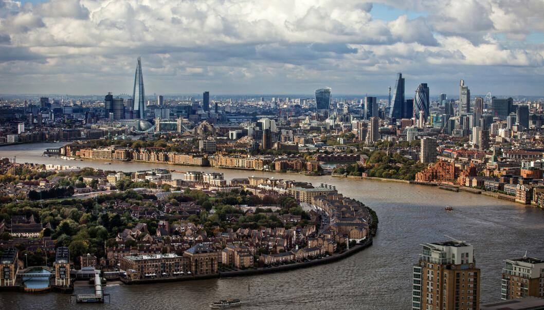 <strong>LONDON:</strong> En tur til den engelske hovedstaden har blitt nesten 3500 kroner dyrere siden 2018, ifølge beregninger av Storebrand. Foto: NTB Scanpix.