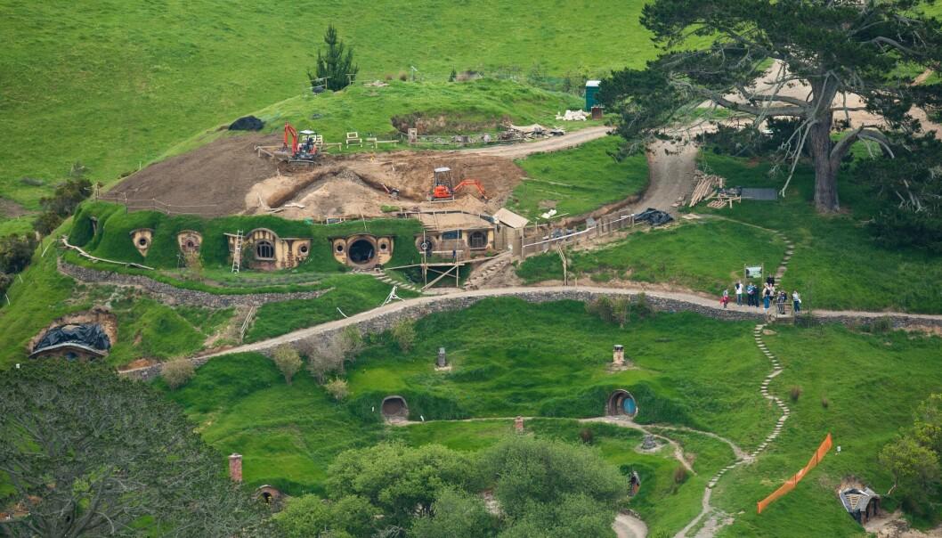 <strong>KJENT STED:</strong> North Island er også kjent som innspillingsstedet til Hobbittun fra «Hobbiten», riktig nok noen mil nordøstover på øya - i Matamata, Waikato. Dette bildet er fra 2010. Foto: Stephen Barker / Rex / Shutterstock / NTB Scanpix