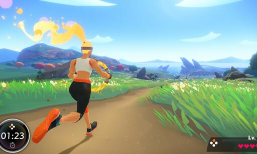 LØP: For å komme deg gjennom brettene, må du løpe med ringen foran deg. Foto: Nintendo