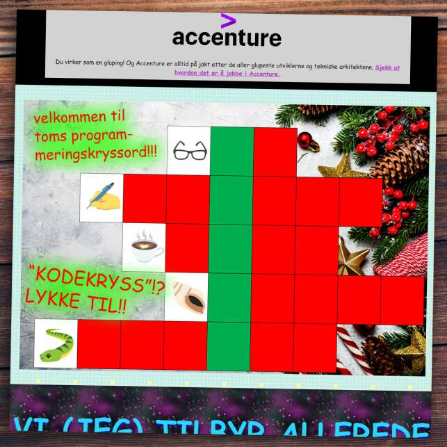 image: Løsningen på kodekalenderen 2019
