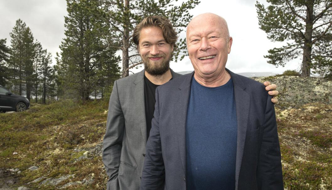 I «PEER GYNT»: De siste åra har Nils Ole Oftebro blant annet vært å se i «Peer Gynt»-oppsetningen på Gålå, sammen med eldstesønnen Jakob. Foto: Andreas Fadum