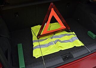 VIKTIG: Finn ut hvor de ligger i bilen og ha dem tilgjengelig. Foto: Rune M. Nesheim