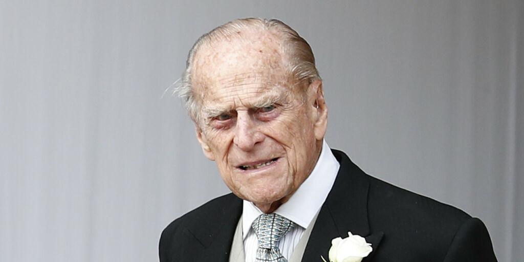 image: Prins Philip til sykehus