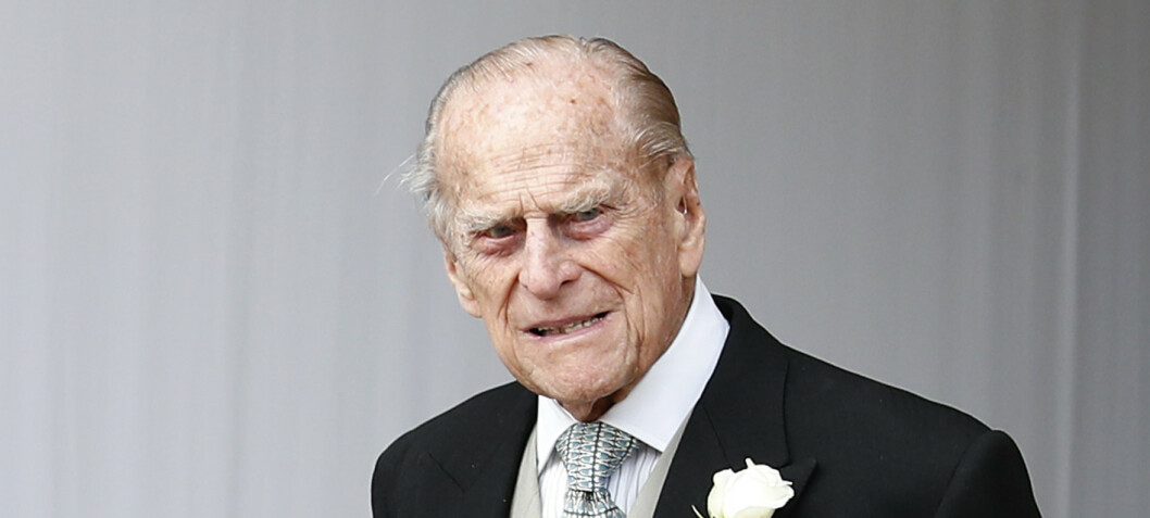 Prins Philip til sykehus