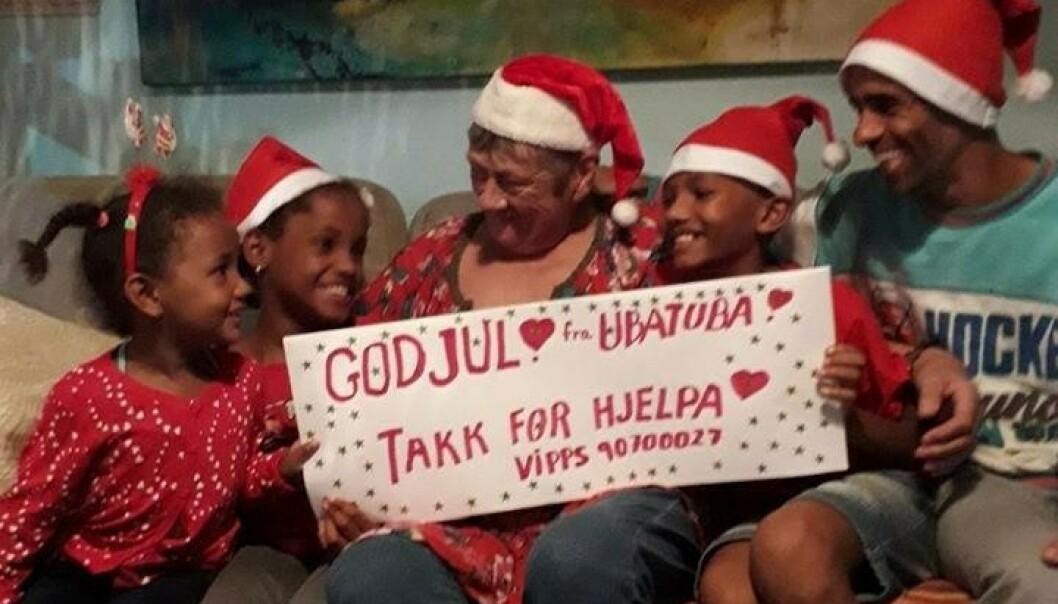 <strong>JULEKORTET:</strong> Sårbar og takknemlig familie i Brasil.