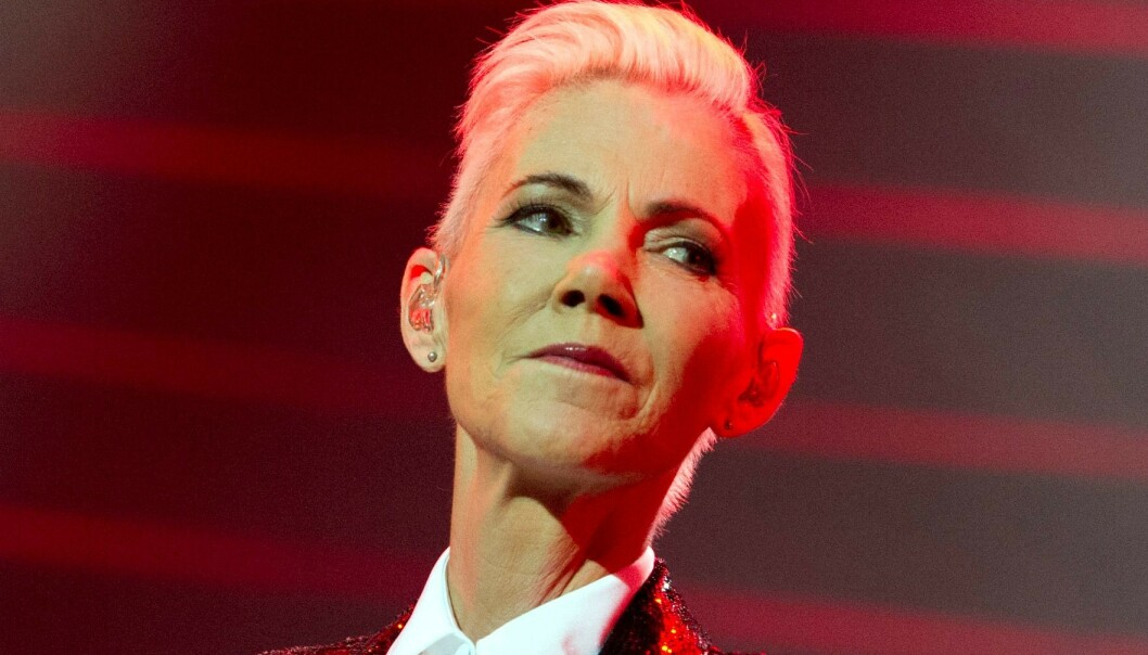 MISBRUKT I REKLAME: Marie Fredriksson dukket opp i en falsk reklame post mortem. Foto: NTB scanpix