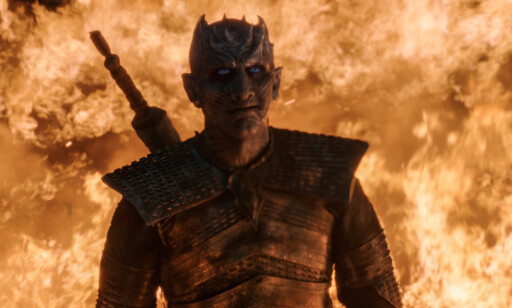 LOT SEG OVERVINNE: Hvordan The Night King ble beseiret, var et antiklimaks i «Game of Thrones», mener våre TV-anmeldere. Foto: HBO