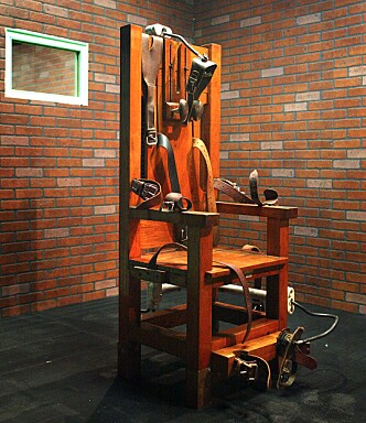 Henrettet: Anna Marie Hahn var den første kvinnen i Ohio som ble henrettet i den elektriske stolen. Foto: NTB Scanpix