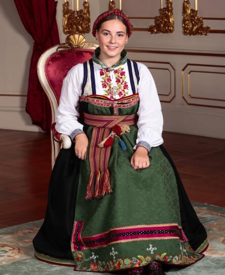 MERKEDAG: Prinsesse Ingrid Alexandra fikk andres konfirmasjoner til å blekne. Og det er helt greit. Foto: Lise Åserud / NTB scanpix