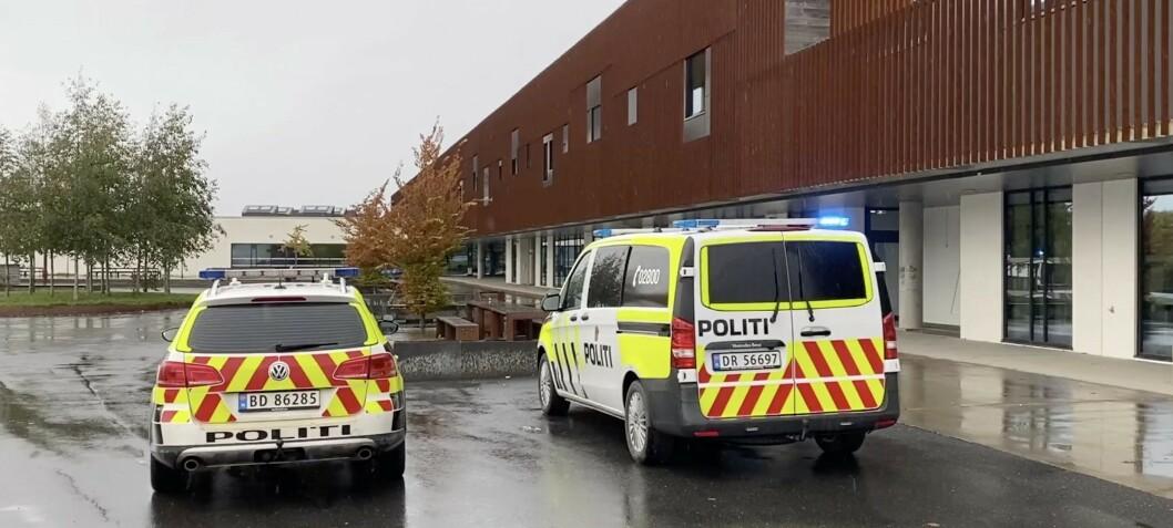 Politiet om skoletrusler: - Det skjer ukentlig