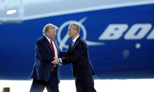 image: Boeing-sjefen har fått sparken