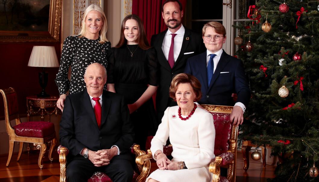<strong>JUL:</strong> Kongeparet skal feire julen på Kongsseteren sammen med prinsesse Märtha Louise. Kronprinsparet tilbringer julen i i Uvdal. Foto: NTB Scanpix / Lise Åserud