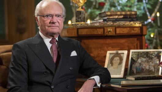 Sveriges konge bekymret