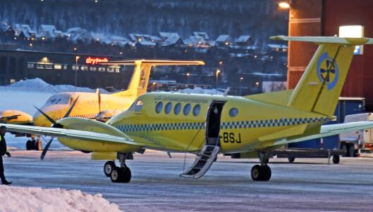 Ambulanseflyene i Finnmark ute av tjeneste grunnet sykdom