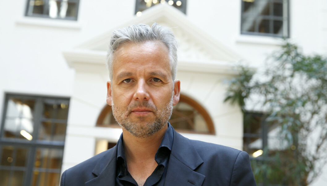 Forfatter Ari Behn døde 1. juledag. Han ble 47 år gammel. Foto: Terje Pedersen / NTB scanpix