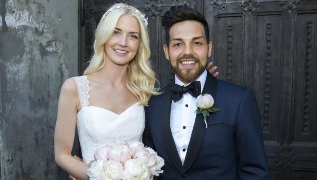 <strong>SJELEVENNER:</strong> Alejandro Fuentes har aldri lagt skjul på at han er glad for at han traff kona Christina. Foto: Andreas Fadum, Se og Hør
