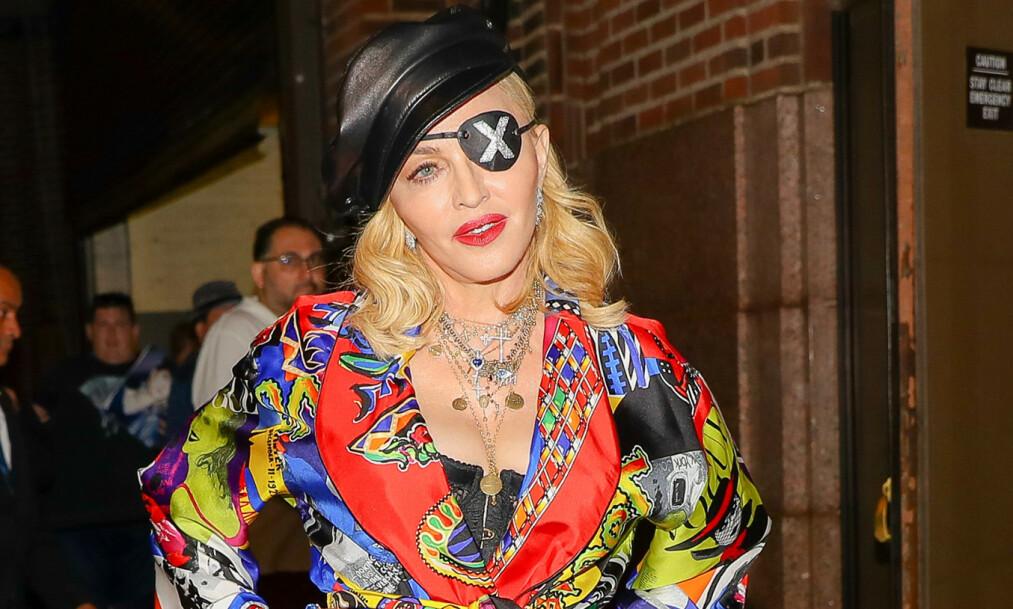 SMERTER: Madonna avlyser flere konserter. Foto: NTB Scanpix