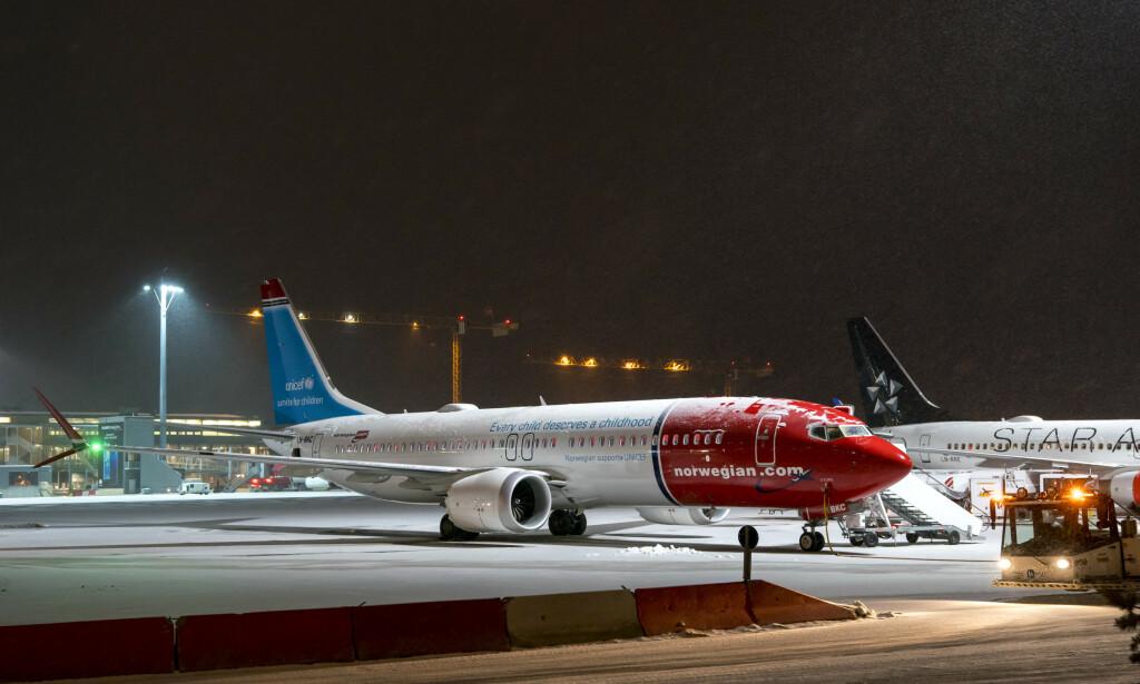 KLAGET: Seks passasjerer får medhold i klager på håndbagasjegebyrer de ble ilagt av Norwegian.  Foto: Cornelius Poppe / NTB scanpix