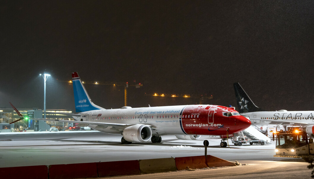 <strong>KLAGET:</strong> Seks passasjerer får medhold i klager på håndbagasjegebyrer de ble ilagt av Norwegian.  Foto: Cornelius Poppe / NTB scanpix