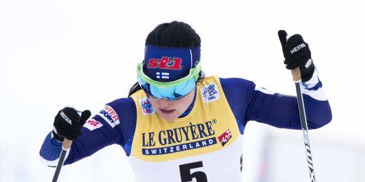 image: Pärmäkoski trekker seg fra Tour de Ski