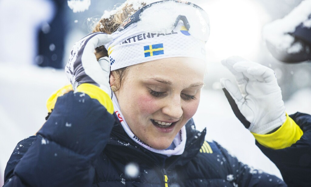 Mandatory Credit: Photo by Sportida/SIPA/Shutterstock (10512251c) Stina Nilsson (SWE) after the ladies team sprint race FIS Cross Country World Cup Competition, Planica, Ladies team sprint, Slovenia - 22 Dec 2019
