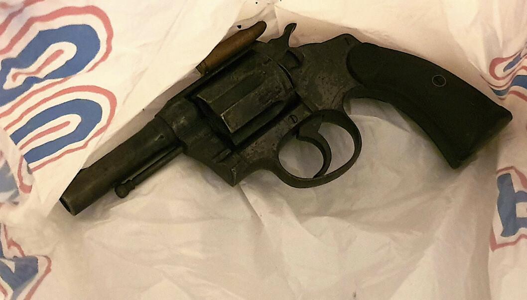 Våpenet har i flere år vært i Holmestrand-området. Foto: Tore Sandberg / NTB scanpix