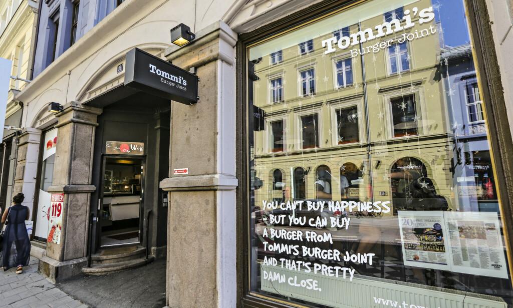 KJEMPEGJELD: Fire år etter at Tommi's Burger Joint først begynte å selge fastfood i Oslo, er det kroken på døra for burgerkjeden i Norge. Foto: Ørn E. Borgen / AFTENPOSTEN